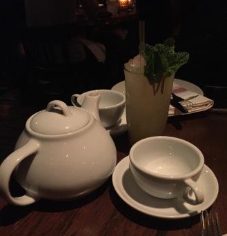 Hot water & lemons