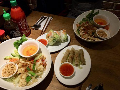 Pho Viet 68 Restaurant - The spread