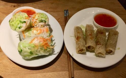 Pho Viet 68 Restaurant - Nem cuon and Cha Gio