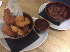 Kua'aina: Coconut King Prawns & Honey Mustard Mini Sausages
