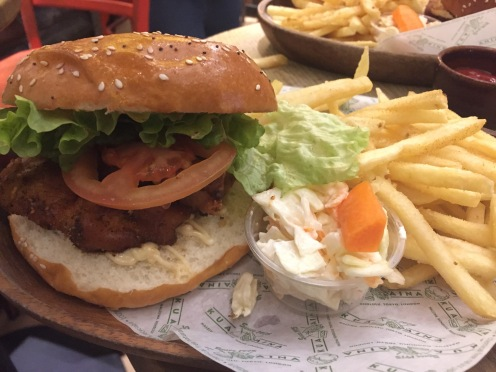 Kua'aina: Buttermilk Fried Chicken Burger